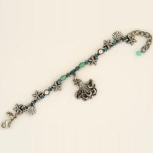 Octopus Charm Bracelet | La Contessa Jewelry | LCBR9172BG