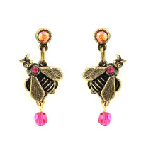 Baby Bee Droplet Earrings Oh Bee Have! | La Contessa Jewelry | LCER9104