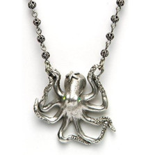 By the Sea Octopus Necklace | La Contessa Jewelry | LCNK8567