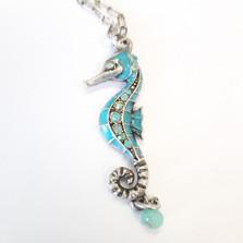 Seahorse Turquoise Necklace | La Contessa Jewelry | LCNK8761tq