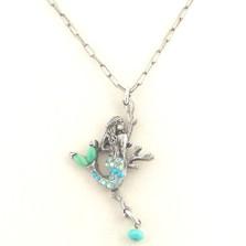 Mermaid Il Mare Turquoise Necklace | La Contessa Jewelry | LCNK8766tq