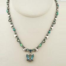 Glamorous Kitty Head Dangle Necklace | La Contessa Jewelry | LCNK8856