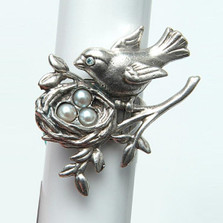 Primavera Bird Ring | La Contessa Jewelry | LCRG8501