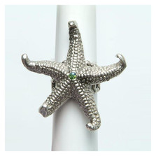 By the Sea Starfish Ring | La Contessa Jewelry | LCRG8561