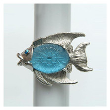 By the Sea Fish Ring | La Contessa Jewelry | LCRG8564
