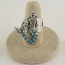 Mermaid Il Mare Turquoise Ring | La Contessa Jewelry | LCRG8760tqc