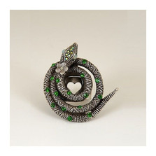 Coiled Serpent Snake Ring | La Contessa Jewelry | LCRG9160