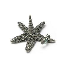 Starfish with Mermaid Ring Stand | La Contessa Jewelry | LCRS8060