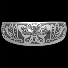 Butterfly Sterling Silver Bracelet |  Metal Arts Group Jewelry | MAG14111