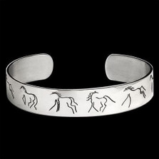 Wolftown Horse Bracelet |  Metal Arts Group Jewelry | MAG16102