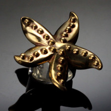 Starfish Bronze Ring | Anisa Stewart Jewelry | ASJbrs1019-r