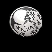 Wolf Seeker Sterling Silver Pendant Necklace |  Metal Arts Group Jewelry | MAG40916