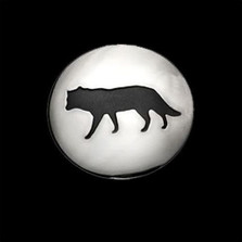 Wolf Shadows Large Pendant Necklace |  Metal Arts Group Jewelry | MAG42427
