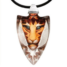 Tigris Yellow Tiger Crystal Necklace |  84124 | Mats Jonasson Maleras Jewelry -2