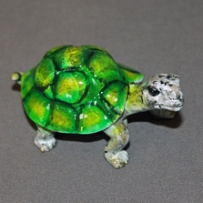 Turtle Baby Bronze Sculpture | Barry Stein | BBSBAB1