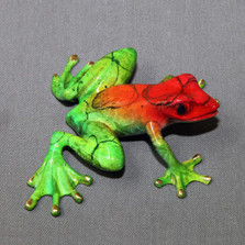 "Frog Bronze Sculpture ""Chica"" 