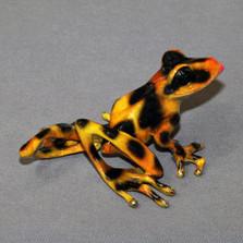 "Frog Bronze Sculpture ""Delilah"" | Barry Stein | BBSDEL1-G"