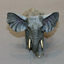 "Elephant Bronze Sculpture ""Bull"" 