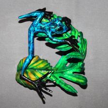 "Frog Bronze Sculpture ""Elvis"" | Barry Stein | BBSELV1-B"