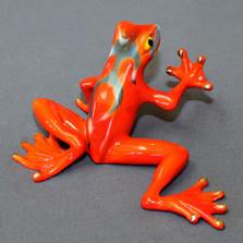 Frog Bronze Sculpture | Barry Stein | BBSHOT1-OG