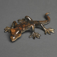 Lizard Bronze Sculpture | Barry Stein | BBSLIZ1-B