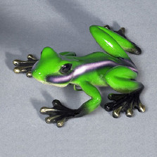 "Frog Bronze Sculpture ""Lola"" | Barry Stein | BBSLOL1-L"
