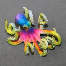 """Octopus Bronze Sculpture """"Oliver""""   Barry Stein   BBSOLI1-B"""