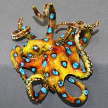 "Octopus Bronze Sculpture ""Olympus""   Barry Stein   BBSOLY1-BG"