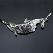 Tarpon Sterling Silver Necklace | Anisa Stewart Jewelry | ASJs1013