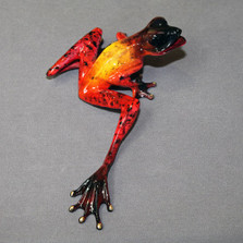 "Frog Bronze Sculpture ""Samson""   Barry Stein   BBSSAM1-F"