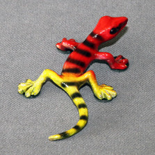 Lizard Bronze Sculpture Small Lizard | Barry Stein | BBSSMA2-RY