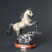 "Horse Bronze ""Spirit of the Wind   Barry Stein   BBSSPI1-SW"