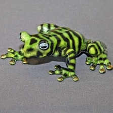 "Frog Bronze Sculpture ""Tiger"" 