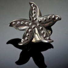 Starfish Sterling Silver Ring | Anisa Stewart Jewelry | ASJs1019-r