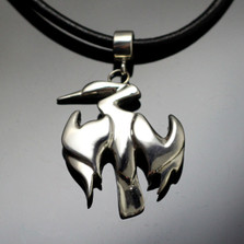 Anhinga Sterling Silver Necklace | Anisa Stewart Jewelry | ASJw1001