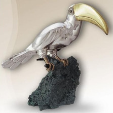 Silver Toucan Sculpture | 2007 | D'Argenta
