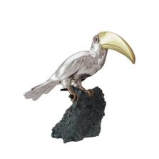 Toucan Silver Plated Sculpture   2007   D'Argenta