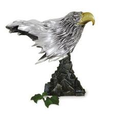 Eagle Head Silver Plated Sculpture | 2009 | D'Argenta