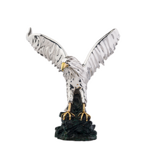 Eagle in Flight Silver Plated Sculpture | 2522 | D'Argenta