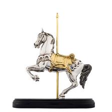 Carousel Horse Silver Plated Sculpture | 7510 | D'Argenta