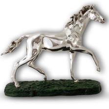 Silver Horse Sculpture | A15 | D'Argenta