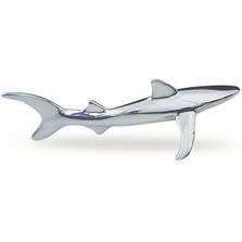 Silver Shark Sculpture Small | A24 | D'Argenta