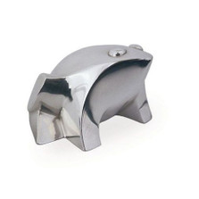 Silver Plated Contemporary Frog Sculpture | A45 | D'Argenta