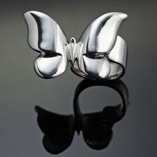 Butterfly Sterling Silver Ring | Anisa Stewart Jewelry | asR1028
