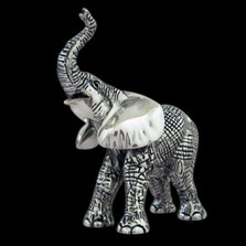 Elephant Baby Silver Plated Sculpture | A55 | D'Argenta