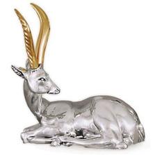 Silver Deer Sculpture | A6 | D'Argenta