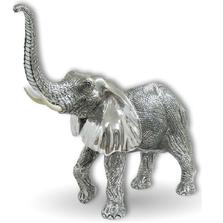 Silver Elephant Sculpture | A89 | D'Argenta