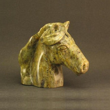 Horse Bust Stone Sculpture | Douglas Creek | 2500