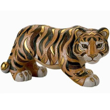 Tiger LTD Edition Ceramic Figurine | De Rosa | Rinconada | DER447