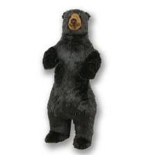 Standing 4 ft Black Bear Plush Stuffed Animal | Ditz Designs | DIT75020